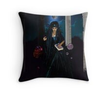 The High Priestess Widescreen Throw Pillow