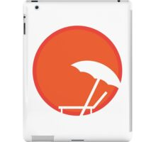 Hot like the sunrise iPad Case/Skin