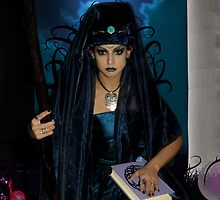 The High Priestess Tarot Card by Lividly Vivid