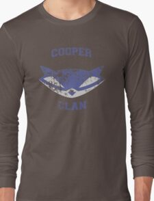 Cooper Clan distressed (Sly Cooper) Long Sleeve T-Shirt
