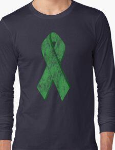 green ribbon Long Sleeve T-Shirt