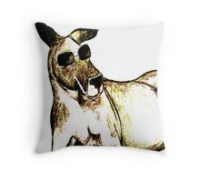 Cool Kangaroo (Colour) Throw Pillow