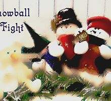 Snowball Fight by Judi Taylor