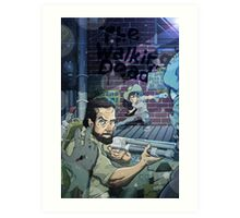 The Walking Dead Father and Son Art Print