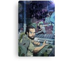 The Walking Dead Father and Son Canvas Print