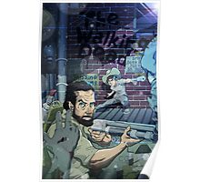 The Walking Dead Father and Son Poster