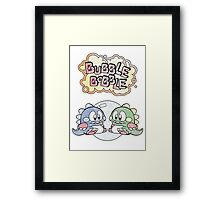 Two Little Dragons Framed Print