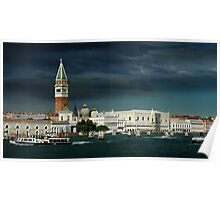 ST. MARKS AND DOGES PALACE, VENICE, ITALY Poster