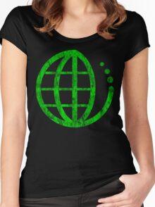 ecoecho : green earth Women's Fitted Scoop T-Shirt