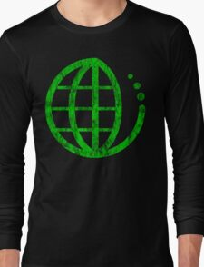 ecoecho : green earth Long Sleeve T-Shirt