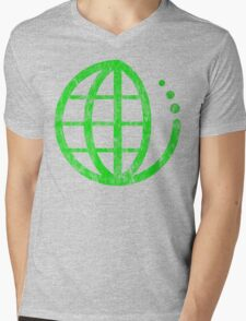 ecoecho : green earth Mens V-Neck T-Shirt