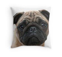PUGGY Throw Pillow