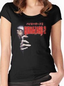 Biohazard Women's Fitted Scoop T-Shirt