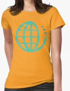 ecoecho : conserve water Womens Fitted T-Shirt