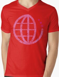 ecoecho : mother earth Mens V-Neck T-Shirt