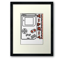 Handy Game Machine Framed Print
