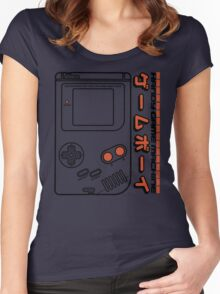 Handy Game Machine Women's Fitted Scoop T-Shirt