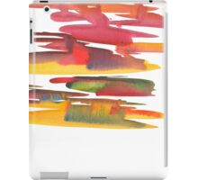 Hand drawing with colored spots and blotches.  iPad Case/Skin
