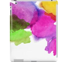 Bright watercolor stains iPad Case/Skin