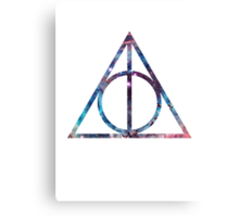 Deathly Hallows - Nebula Canvas Print