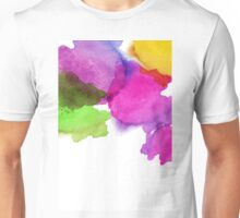 Bright watercolor stains Unisex T-Shirt