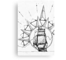 Shipped Canvas Print