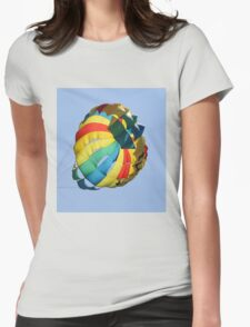 parachute Womens Fitted T-Shirt