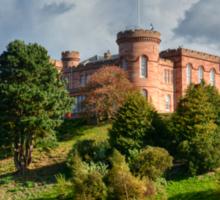 Inverness Castle, Scotland.  Sticker