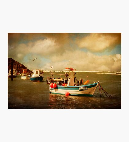 Bude Boats Photographic Print
