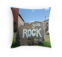 You Rock Throw Pillow