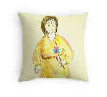 *Goody Two-Shoes* as The Tooth Fairy aunt-lois Throw Pillow