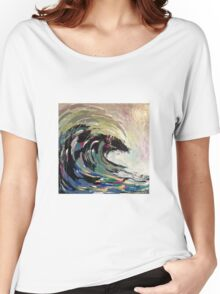 Reigniting Wave Women's Relaxed Fit T-Shirt