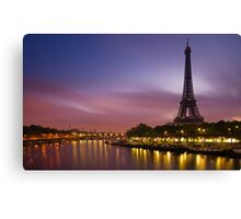 Paris, France. Canvas Print