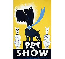 Pet Show Photographic Print