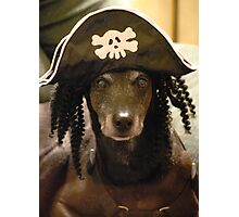 Yo Ho Yo Ho... A Pirate's Life For Me....  Photographic Print