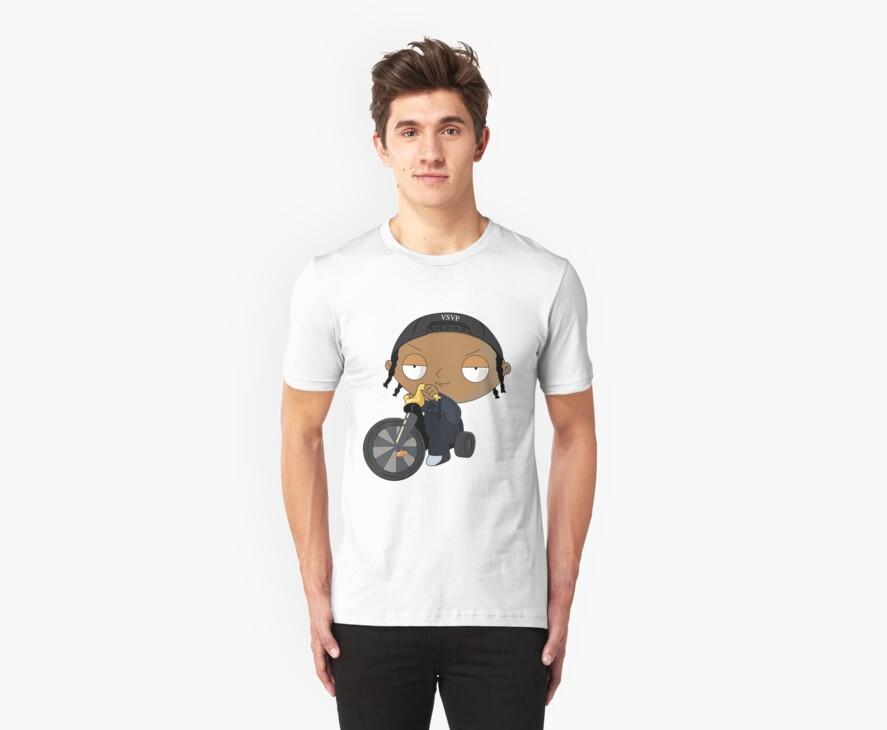 A$AP Rocky vs. Stewie  by Georg Bertram