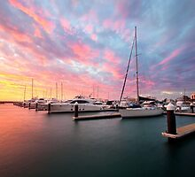 Port Coogee Marina boats Western Australia  by Kirk  Hille