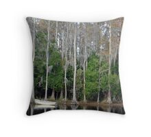 The Pond ll Throw Pillow