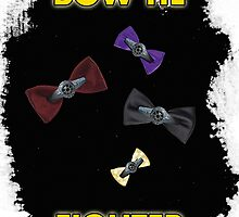 BOW TIE FIGHTER CARD by Malkman