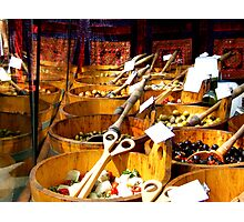 """""""Shopping in the Market"""" Photographic Print"""