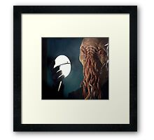 Too Ood to be True! Framed Print