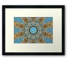 Blue-eyed Blond Framed Print