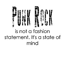 Punk State of mind Photographic Print