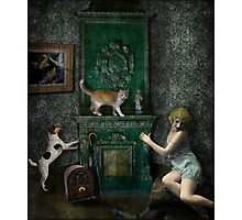 The Music Lesson Photographic Print