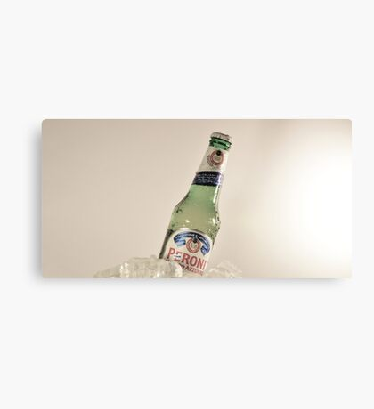 Product Photography - Chilled Beverage Canvas Print