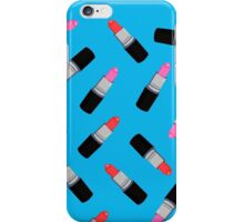 Mac Lipstick Phone Cover Blue iPhone Case/Skin