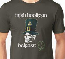 irish hooligan belfast - skull Unisex T-Shirt