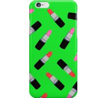Mac Lipstick Phone Cover Green iPhone Case/Skin