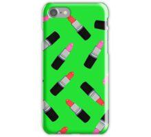 Mac Lipstick Phone Cover Green iPhone Case/Skin