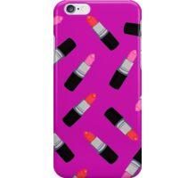 Mac Lipstick Phone Cover Purple iPhone Case/Skin
